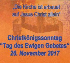 Christkönigssonntag