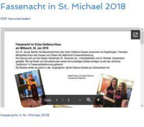Fassenacht in St. Michael 2018