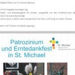 30.09.: Patrozinium & Erntedankfest