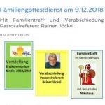 Familiengottesdienst am 9.12.2018