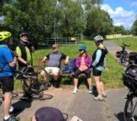 Club + / – Fahrradtour zur Mainspitze
