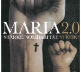 Frankfurter Gruppe Maria 2.0 zum Start des Synodalen Weges in Frankfurt